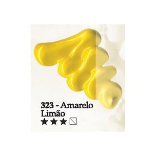 Acrilex oleo 37ml amarelo limão