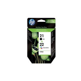 HP 21/22 Combo-pack Inkjet Print Cartridges