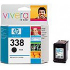 HP 338 Black Inkjet Print Cartridge 2-pack