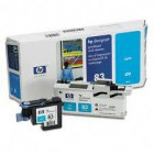 Cabeça de Impressão HP No 83 UV Cyan and Cleaner For use only in HP DesignJet 5000 or 5000PS printers.Cleaner