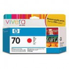 HP 70 130 ml Red Ink Cartridge with Vivera Ink