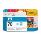 HP 70 130 ml Light Cyan Ink Cartridge with Vivera Ink