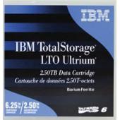Cart.IBM Ultrium LTO-6 Library pack-20un etiquetado (BaFe) 2,5TB/6,25TB (sem caixa individual)