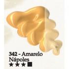 Acrilex oleo 37ml amarelo napoles