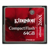 CompactFlash Card 266x 64GB Ultimate w/Recovery s/w