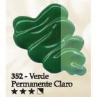 Acrilex oleo 37ml verde perm. claro