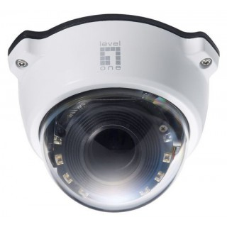 PTZ Dome Network Camera, 2-Megapixel, 802.3af PoE, Day & Night, IR LEDs, PTZ, 3x Optical Zoom, WDR, Outdoor