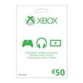 Gift Card Xbox LIVE FPP FI/PT/SV EMEA - 50eur