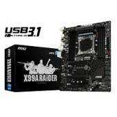 X99A RAIDER, INTEL X99A DDR4 3333 LGA 2011-3 ATX
