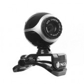 Webcam 300K USB 2.0 micro Preto