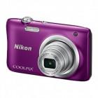 Coolpix A100 PURPLE + Estojo + Selfie stick - 20,1Mp CCD - w5x - 2,7 HD