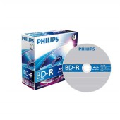 Philips Blu-Ray Recordable 25GB 6x Jewel Case (5 unidades)
