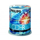 Philips CD-R 80Min 700MB 52x Cakebox (100 unidades)