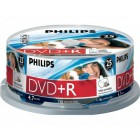 Philips DVD+R 4,7GB 16x Printable mate Cakebox (25 unidades)