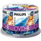 Philips DVD-R 4,7GB 16x Cakebox (50 unidades)