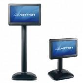 Sitten ST-7058 - Monitor 7? TFT-LCD. Resolução: 800x400. Com stand ajustável. Vesa mount