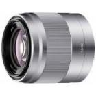 Lente para retratos E50 mm F1.8. Compativel apenas com câmaras de montagem tipo E