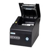 C260K (Serie+USB+ LAN) - Impressora térmica 80mm,velocidade de impressão: 260 mm/s, Fonte de alimentação externa,Côr: Ne