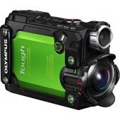 TG-Tracker Verde - inclui Adaptador acessórios Action Cam + punho - 7,2 Megapixéis, TruePic VII (4K), Ecrã LCD 3,8 cm /