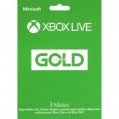 Live 3M Gold Card a XBOX S EL/PT EMEA