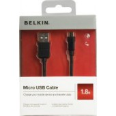 Cabo belkin p/ ipod charge/sync usb-a/micro-b - f8z273cw06