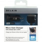 Carregador universal usb belkin para ipod/iphone f8z571cw03