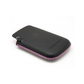 Bolsa pele blackberry 98xx acc-32840 black/pink