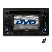 auto radio leitor dvd4.5 usb/sd bluetooth rdd843bt caliber