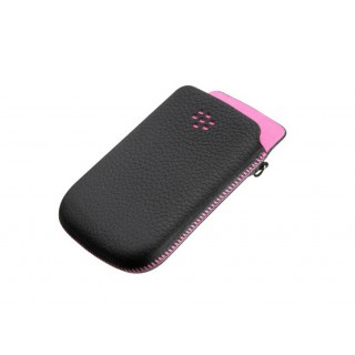Bolsa pele blackberry 98xx black/pink hdw-31015