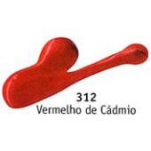 Acrilex ac. 59ml vermelho de cadmio