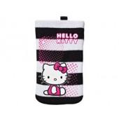 Bolsa meia hello kitty white