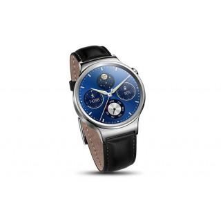 Smartwatch huawei w1 classic 4gb pulseira pele black