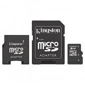 Cartao memoria 3 em 1 kingston 2gb