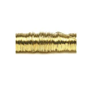 Arame dourado 0.5mm. 50m. 100gr