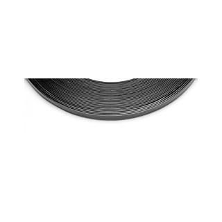 Arame de aluminio achatado c/10m preto