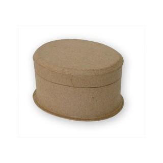 Caixa oval 11.4x8.9x6.5cm