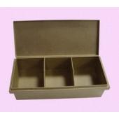 Caixa organizer rectangular 32x13.5x8.5cm