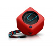 Alta-voz portatil bluetooth philips pixel bt1300r/00 vermelh