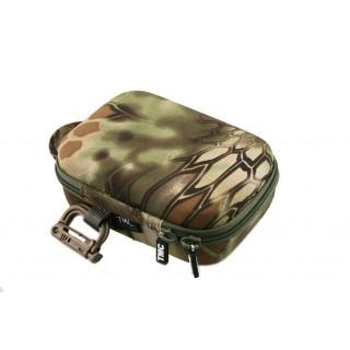 Bolsa para maquinas gopro tamanho s camuflagem s/logo nmo-56