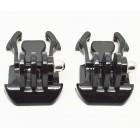 2 x suportes para fixações para gopro hero 3+/3/2/1 nmp-06