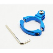 Suporte aluminio pequeno p/bicicleta p/gopro hero 3+/3/2/1 b