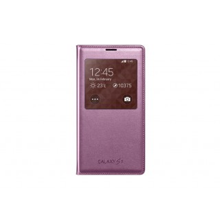 S view cover samsung ef-cg900bpegww galaxy s5 glam pink