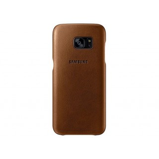 Leather cover galaxy s7 edge brown ef-vg935ldegww