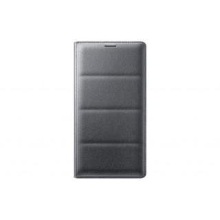 Flip wallet samsung ef-wn910bcegww note 4 black