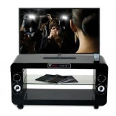 Tv stand home cinema soundvision sv200 black