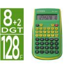 Calculadora citizen cientifica sr-135f grbp verde 128 funcoes 8+2 digitos 154x84x19 mm