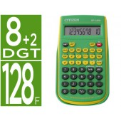Calculadora citizen cientifica sr-135f grbp verde 128 funcoes 8+2 digitos 154x84x19 mm