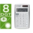 Calculadora citizen de bolso sld-322bk 8 digitos branco/preto