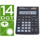 Calculadora citizen de secretaria sdc-554-s secretaria 14 digitos