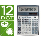 Calculadora citizen de secretaria ccc-112 s 12 digitos 202x155x33 mm